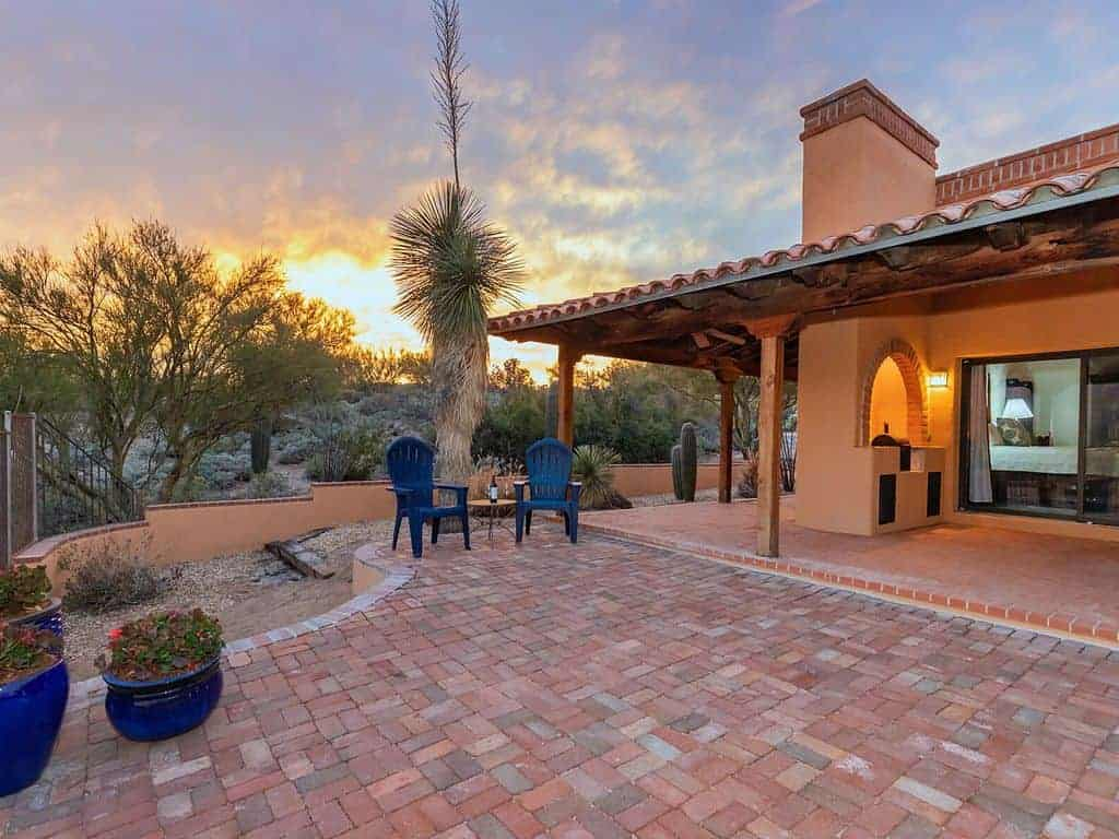 oro valley luxury patio