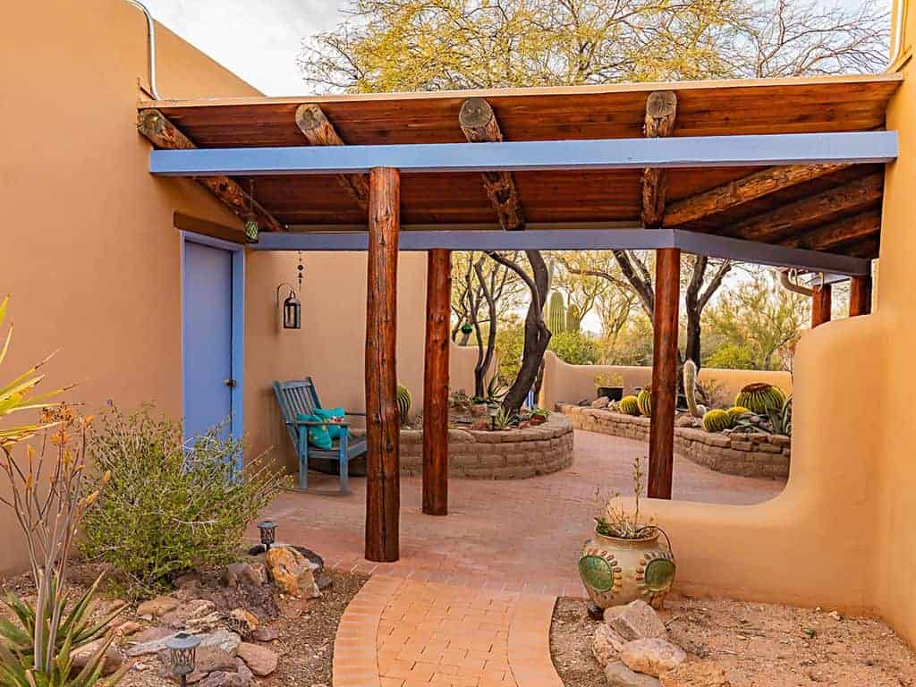 Ironwood Vista covered patio
