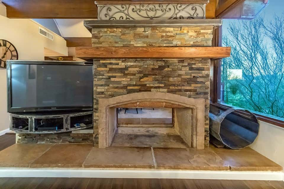 casa velo indoor fireplace