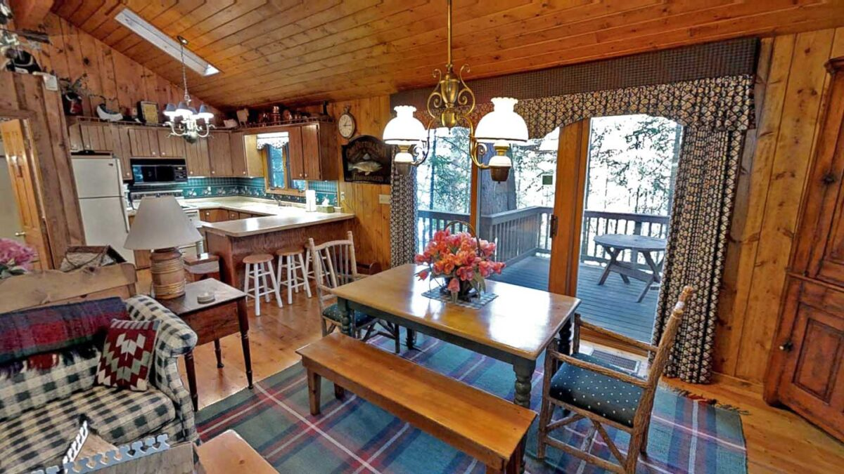 Big Trout Lake Cottage living-space