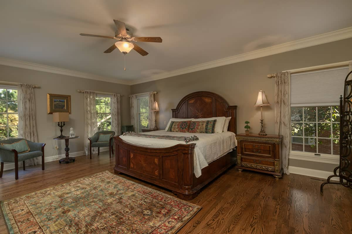 Fox Hollow Master Bedroom