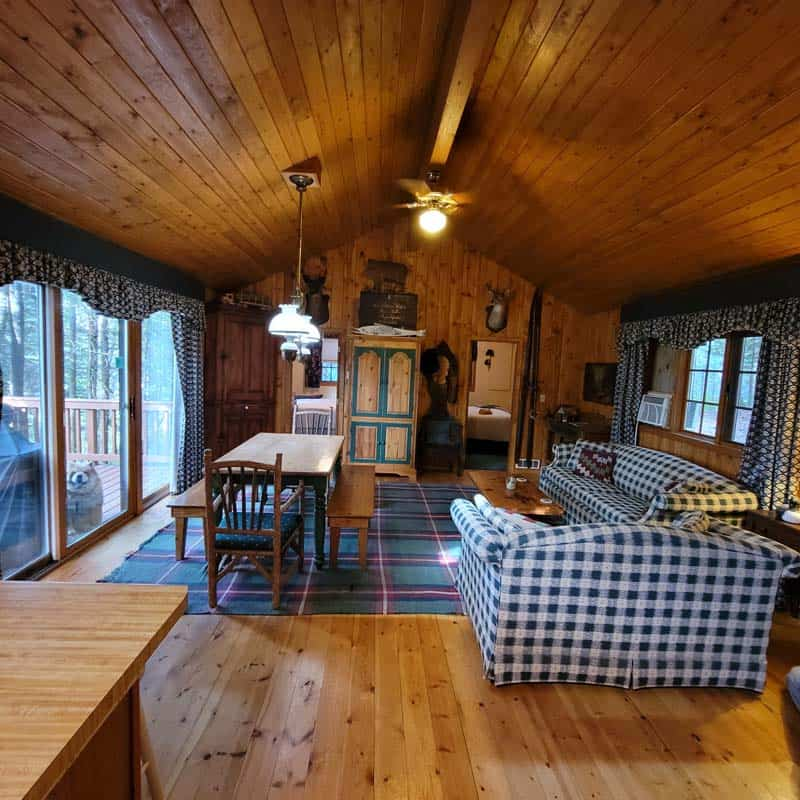 Big Trout Lake Cottage Great Room 3