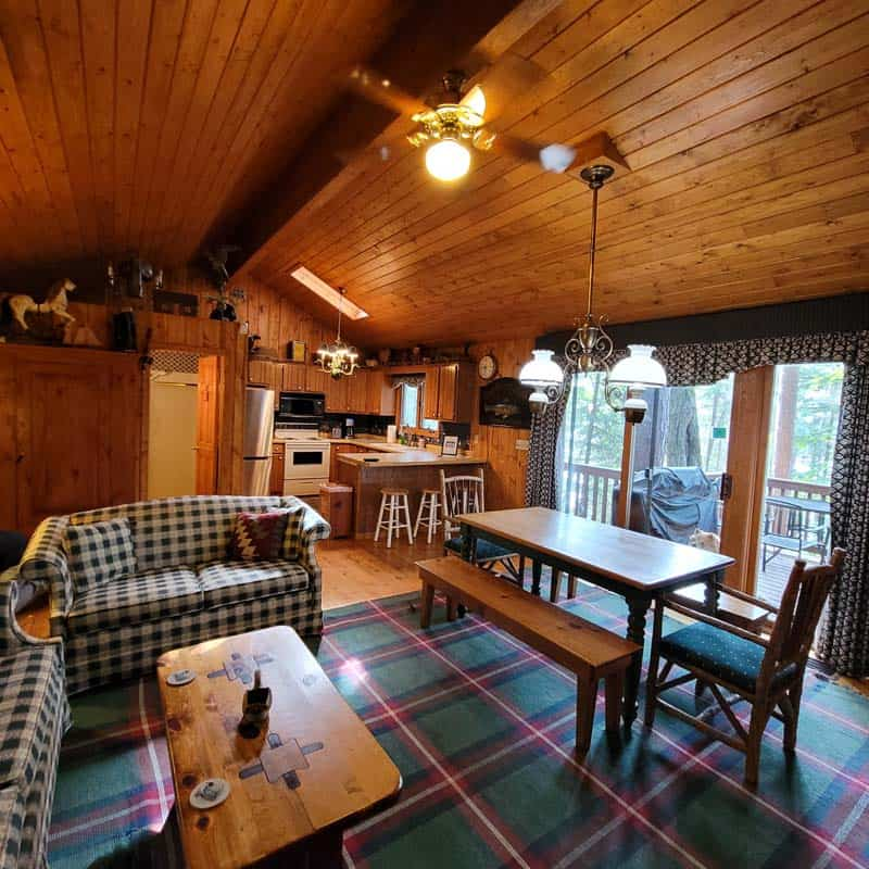 Big Trout Lake Cottage Great Room2